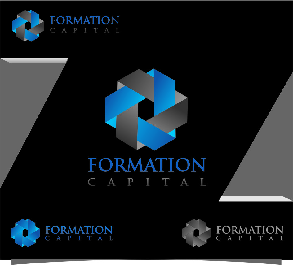 Logo Design by RasYa Muhammad Athaya - Entry No. 183 in the Logo Design Contest Inspiring Logo Design for Formation Capital.