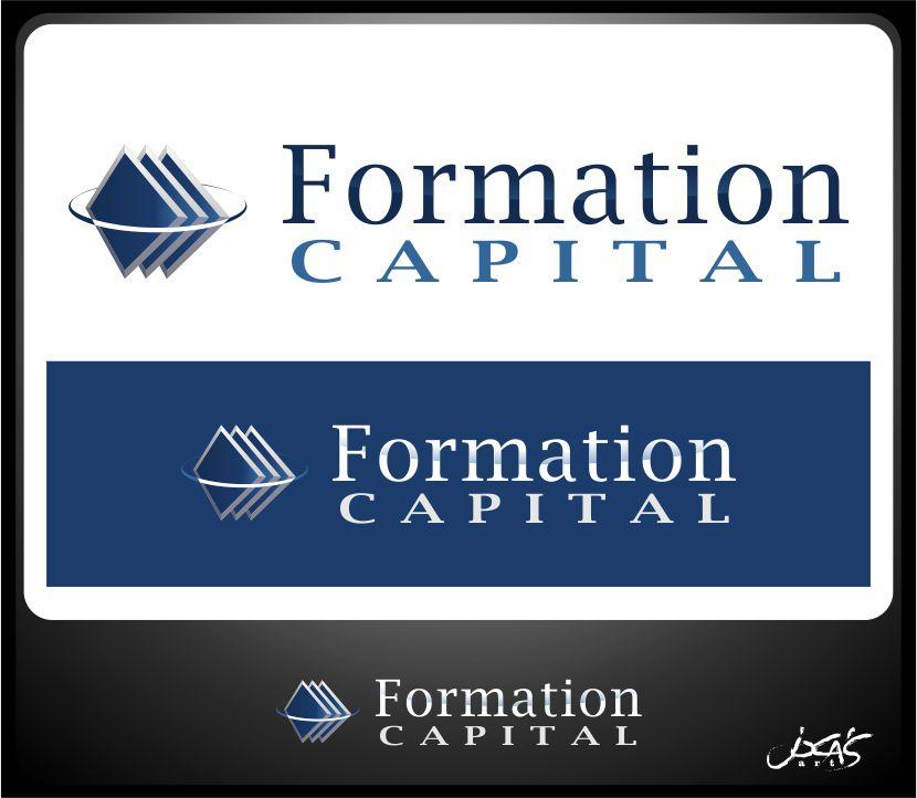 Logo Design by joca - Entry No. 185 in the Logo Design Contest Inspiring Logo Design for Formation Capital.
