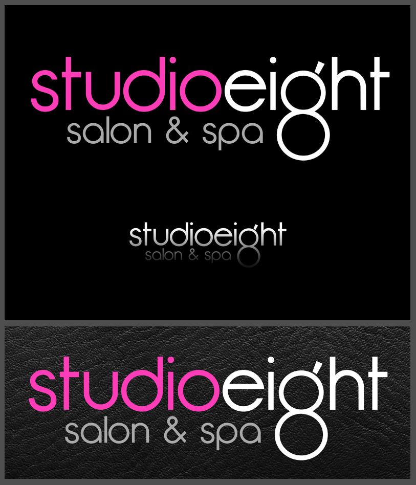 Logo Design by Private User - Entry No. 82 in the Logo Design Contest Captivating Logo Design for studio eight salon & spa.