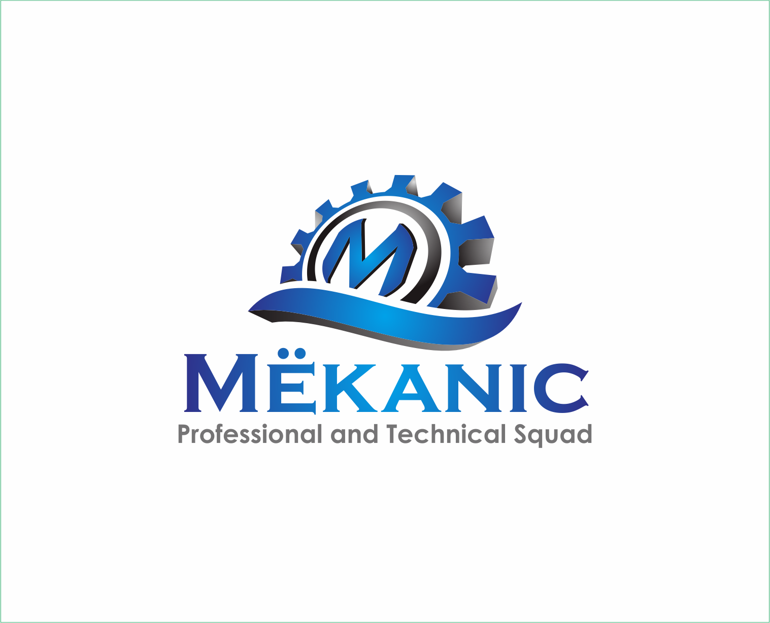 Logo Design by Armada Jamaluddin - Entry No. 323 in the Logo Design Contest Creative Logo Design for MËKANIC - Professional and technical squad.