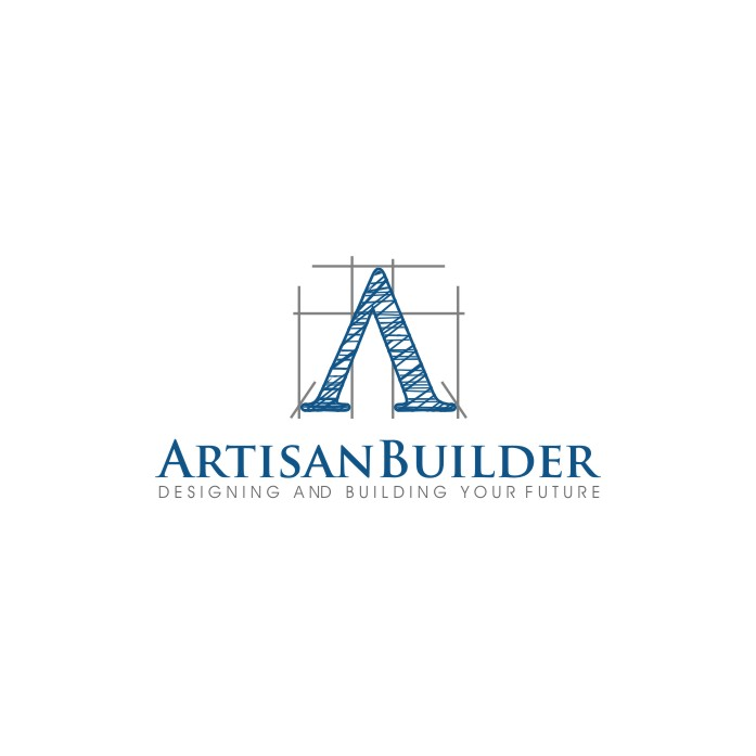 Logo Design by untung - Entry No. 40 in the Logo Design Contest Captivating Logo Design for Artisan Builders.