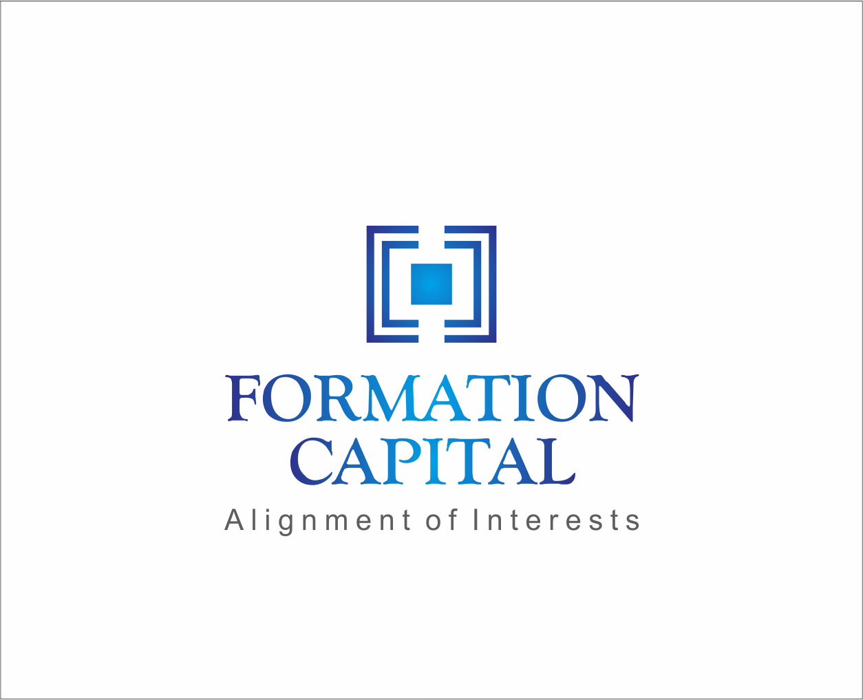 Logo Design by Armada Jamaluddin - Entry No. 202 in the Logo Design Contest Inspiring Logo Design for Formation Capital.