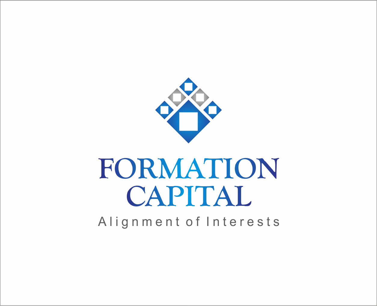 Logo Design by Armada Jamaluddin - Entry No. 204 in the Logo Design Contest Inspiring Logo Design for Formation Capital.