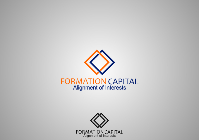 Logo Design by Rizwan Saeed - Entry No. 218 in the Logo Design Contest Inspiring Logo Design for Formation Capital.