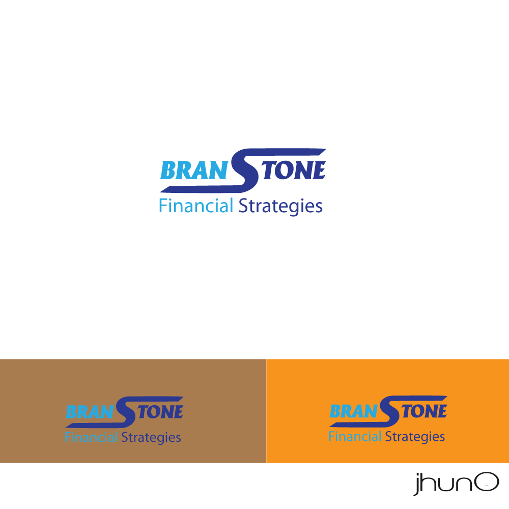 Logo Design by zesthar - Entry No. 8 in the Logo Design Contest Inspiring Logo Design for Branstone Financial Strategies.