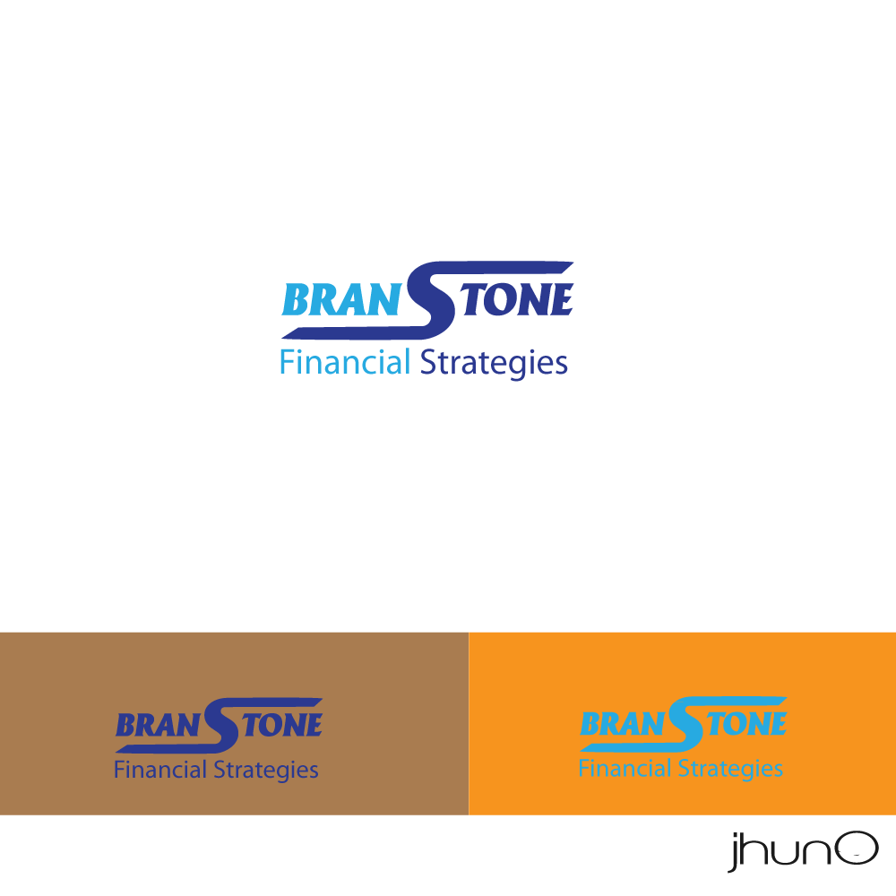 Logo Design by zesthar - Entry No. 9 in the Logo Design Contest Inspiring Logo Design for Branstone Financial Strategies.