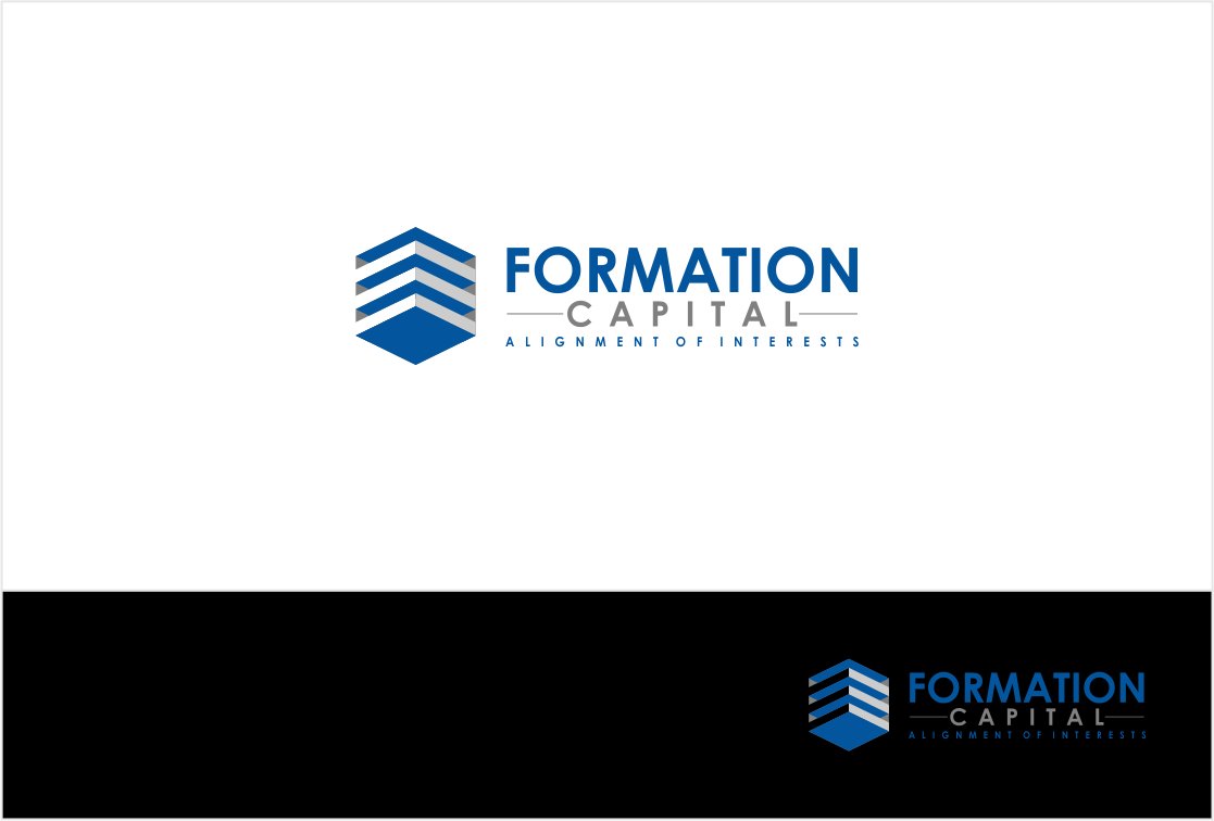Logo Design by haidu - Entry No. 225 in the Logo Design Contest Inspiring Logo Design for Formation Capital.