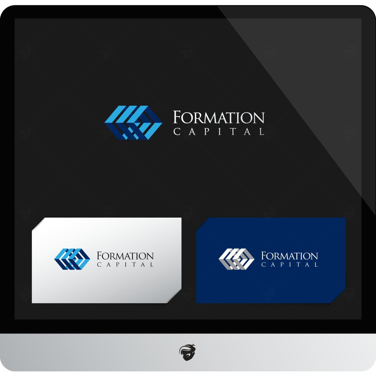 Logo Design by zesthar - Entry No. 228 in the Logo Design Contest Inspiring Logo Design for Formation Capital.
