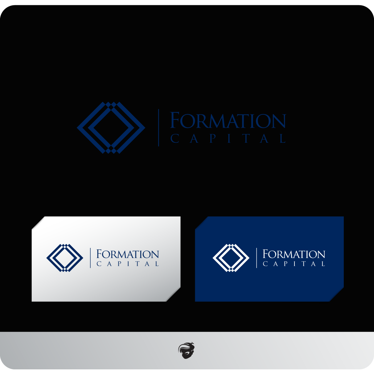 Logo Design by zesthar - Entry No. 231 in the Logo Design Contest Inspiring Logo Design for Formation Capital.
