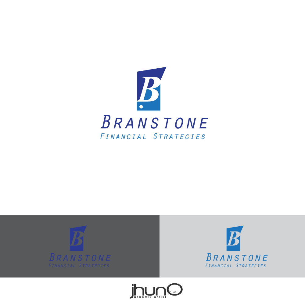 Logo Design by zesthar - Entry No. 12 in the Logo Design Contest Inspiring Logo Design for Branstone Financial Strategies.