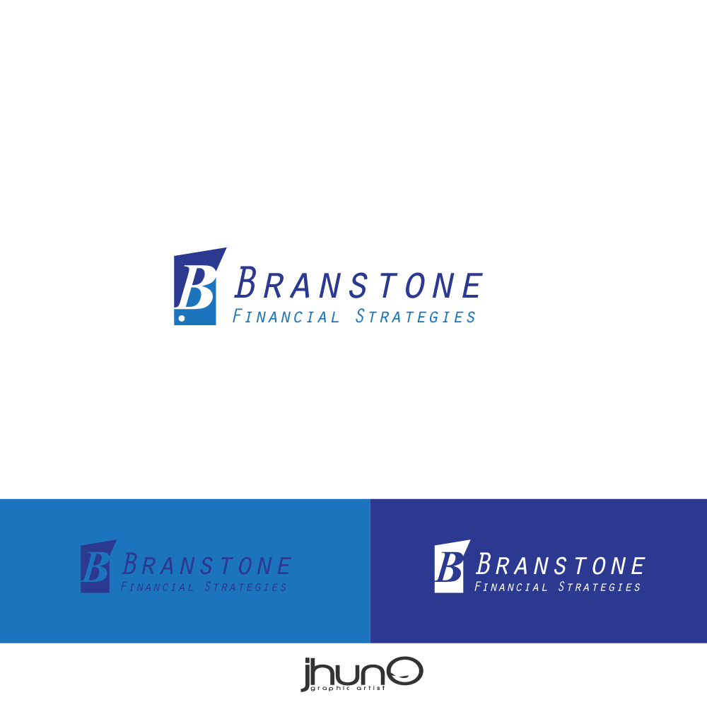 Logo Design by zesthar - Entry No. 13 in the Logo Design Contest Inspiring Logo Design for Branstone Financial Strategies.