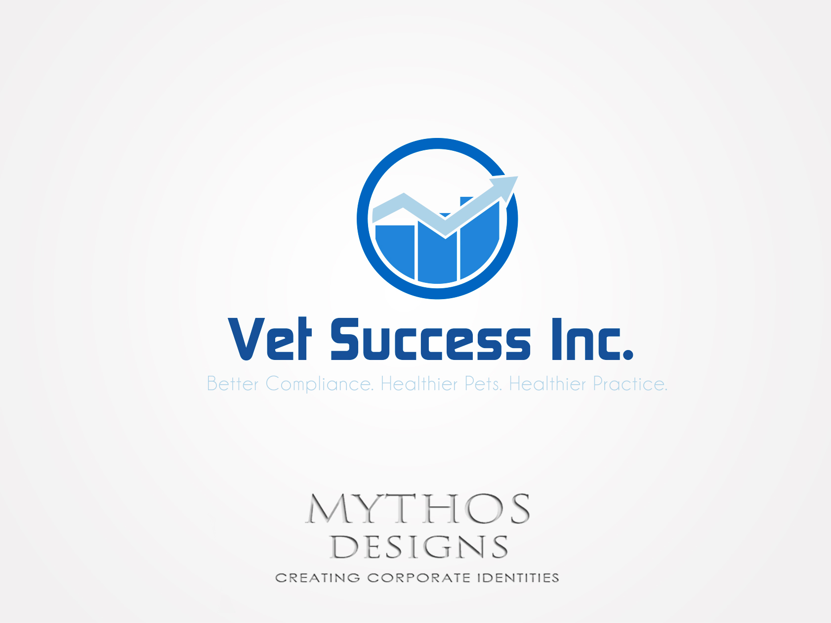 Logo Design by Mythos Designs - Entry No. 61 in the Logo Design Contest Imaginative Logo Design for Vet Success Inc..