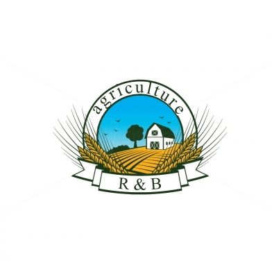 Logo Design by Dek Lestari - Entry No. 110 in the Logo Design Contest Captivating Logo Design for R & B Agriculture.