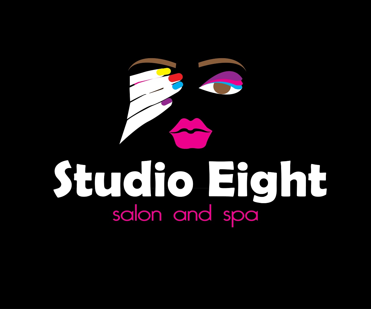 Logo Design by jhunzkie24 - Entry No. 89 in the Logo Design Contest Captivating Logo Design for studio eight salon & spa.