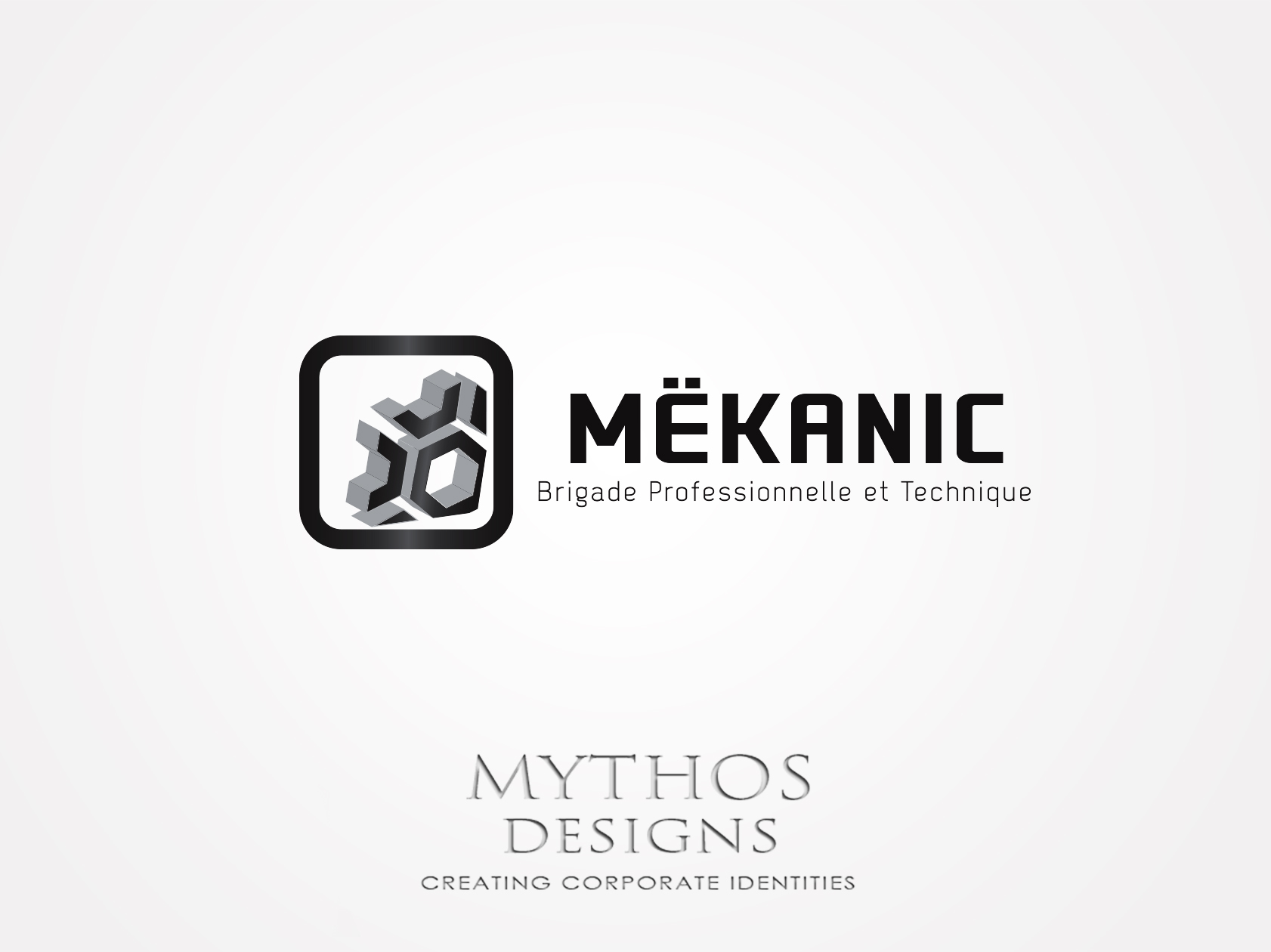 Logo Design by Mythos Designs - Entry No. 337 in the Logo Design Contest Creative Logo Design for MËKANIC - Professional and technical squad.