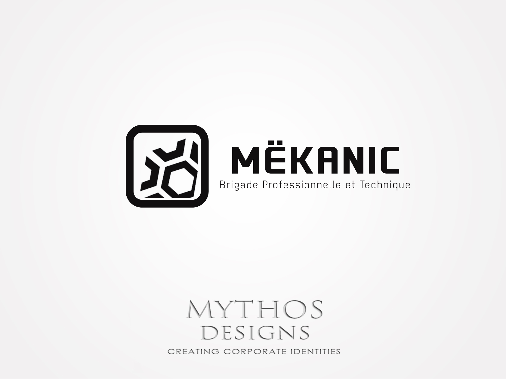Logo Design by Mythos Designs - Entry No. 338 in the Logo Design Contest Creative Logo Design for MËKANIC - Professional and technical squad.