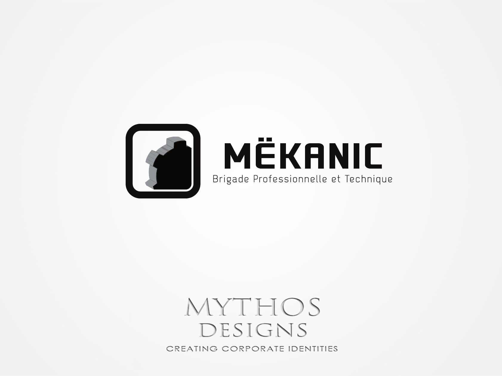 Logo Design by Mythos Designs - Entry No. 339 in the Logo Design Contest Creative Logo Design for MËKANIC - Professional and technical squad.