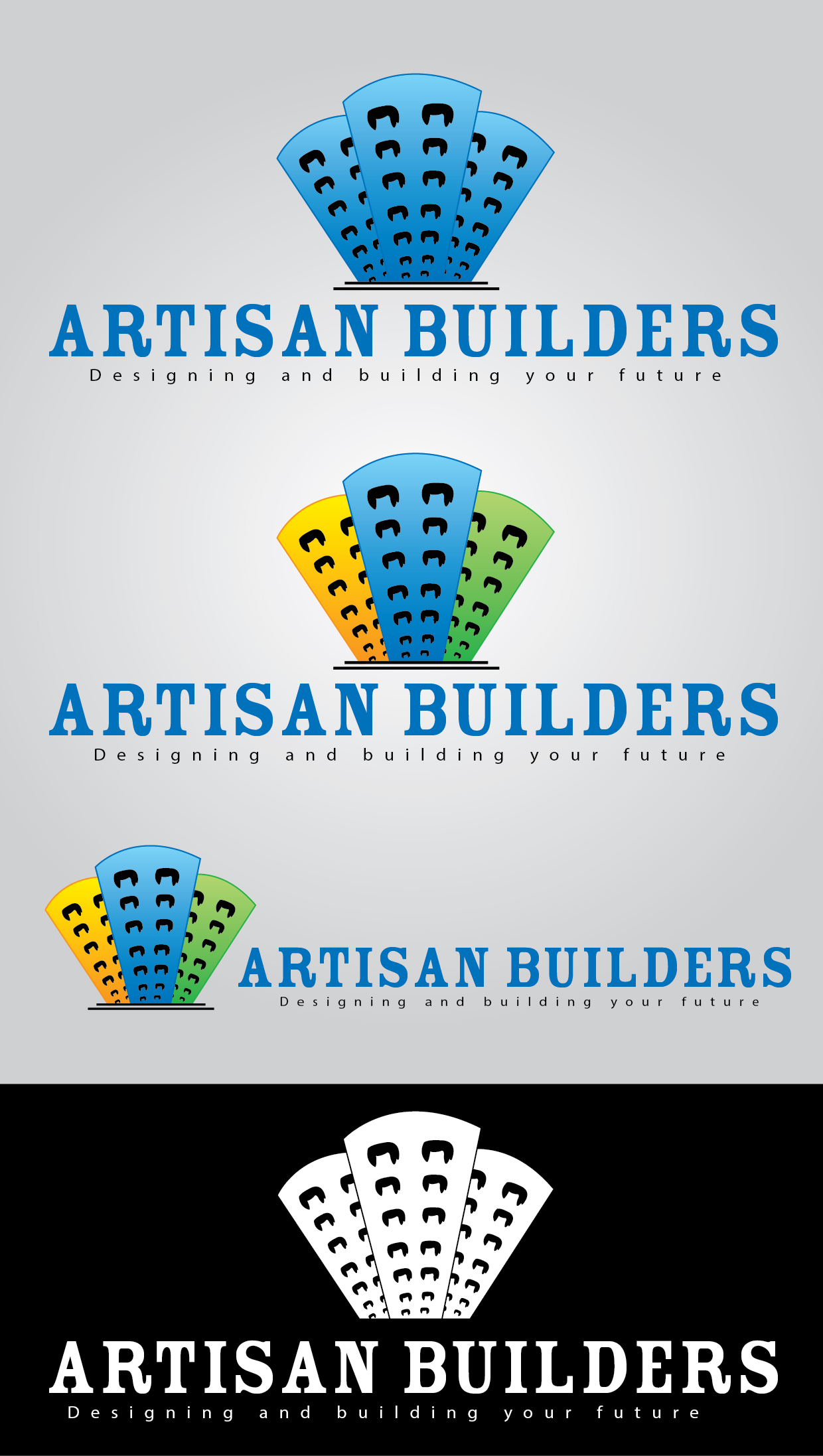 Logo Design by mediaproductionart - Entry No. 41 in the Logo Design Contest Captivating Logo Design for Artisan Builders.