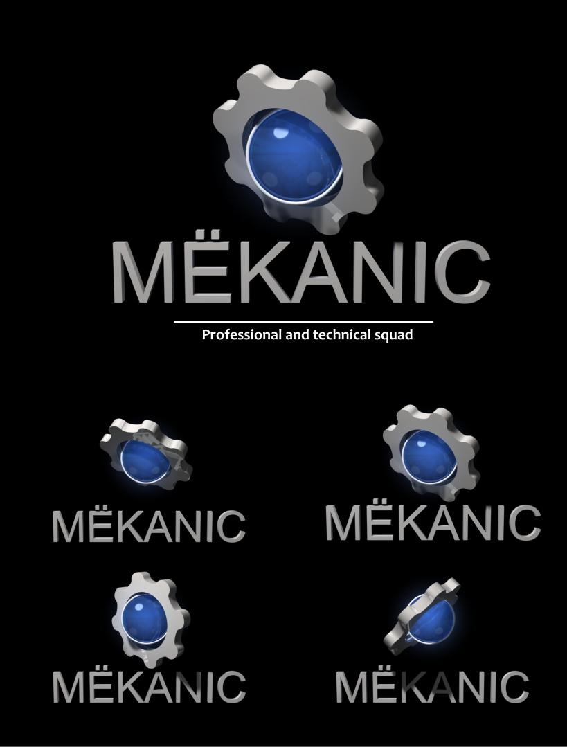 Logo Design by Private User - Entry No. 342 in the Logo Design Contest Creative Logo Design for MËKANIC - Professional and technical squad.