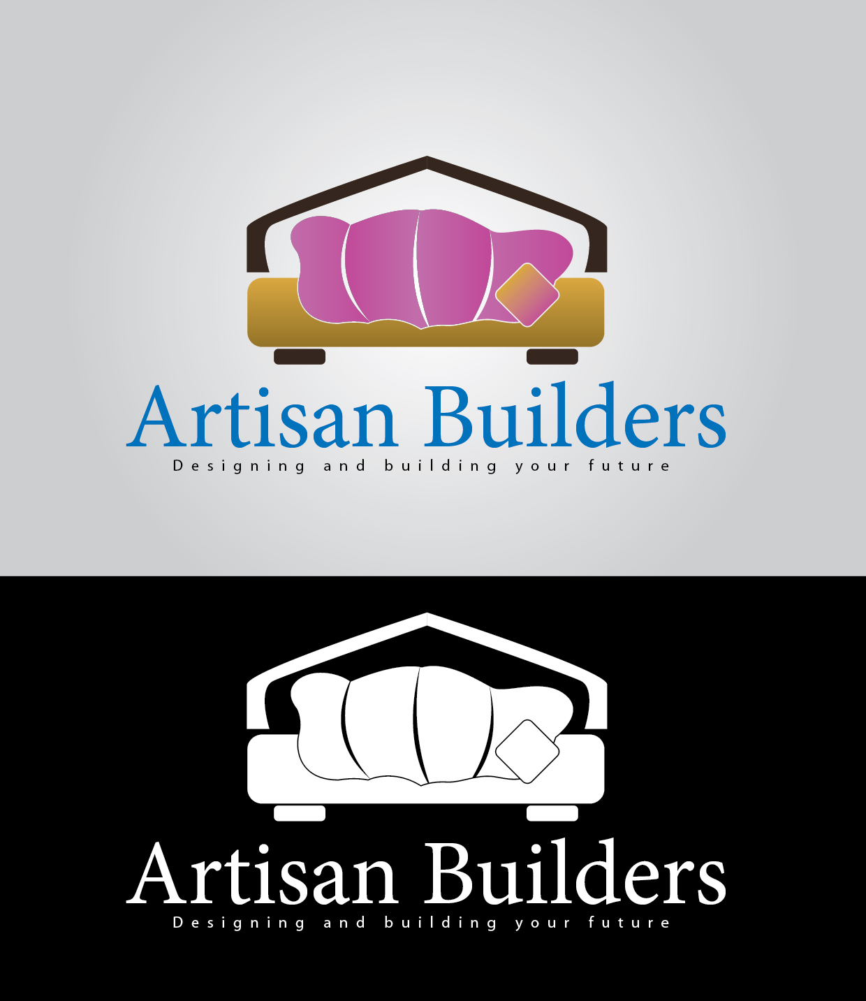 Logo Design by mediaproductionart - Entry No. 43 in the Logo Design Contest Captivating Logo Design for Artisan Builders.