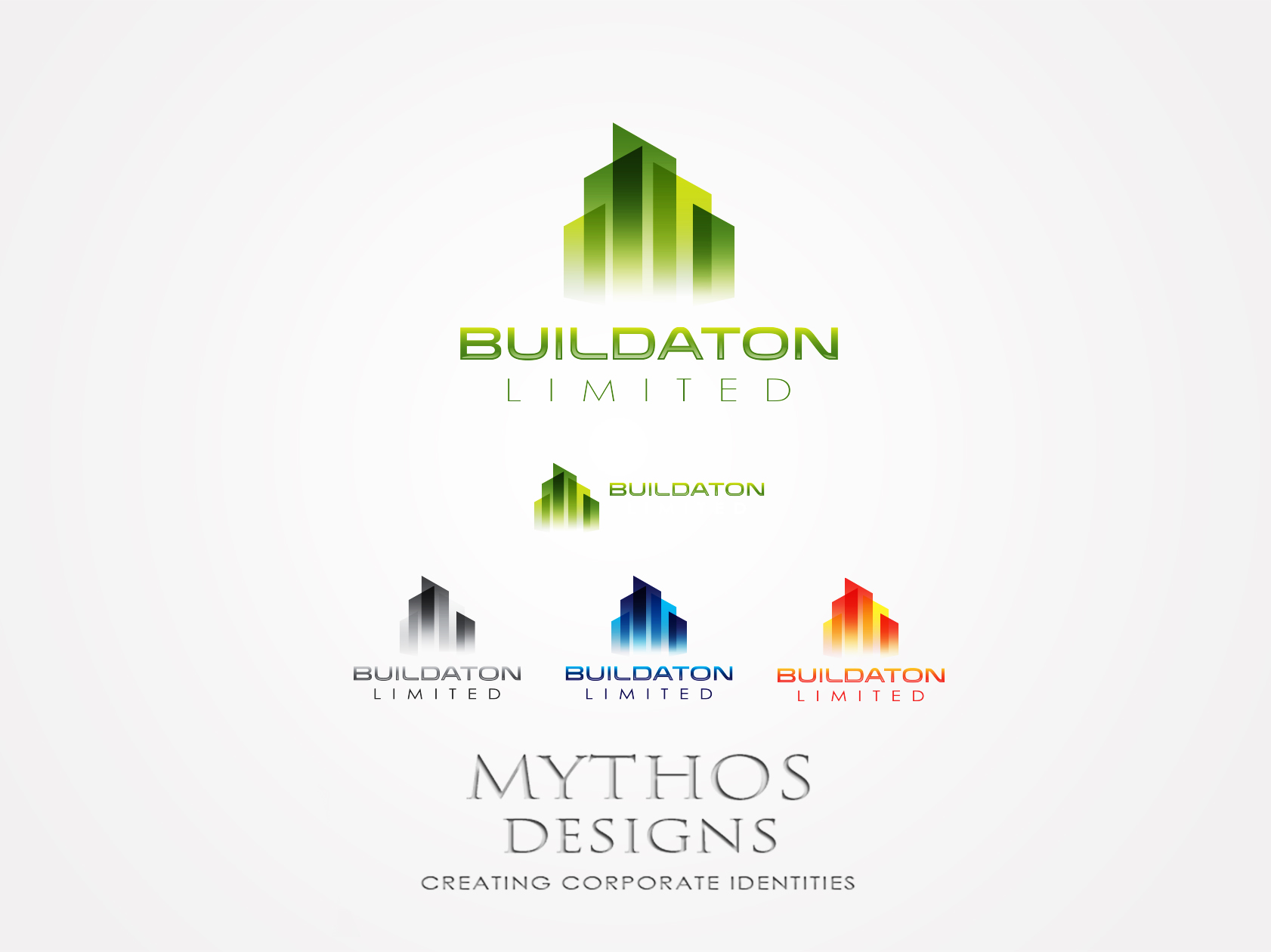Logo Design by Mythos Designs - Entry No. 34 in the Logo Design Contest Artistic Logo Design for Buildaton Limited.