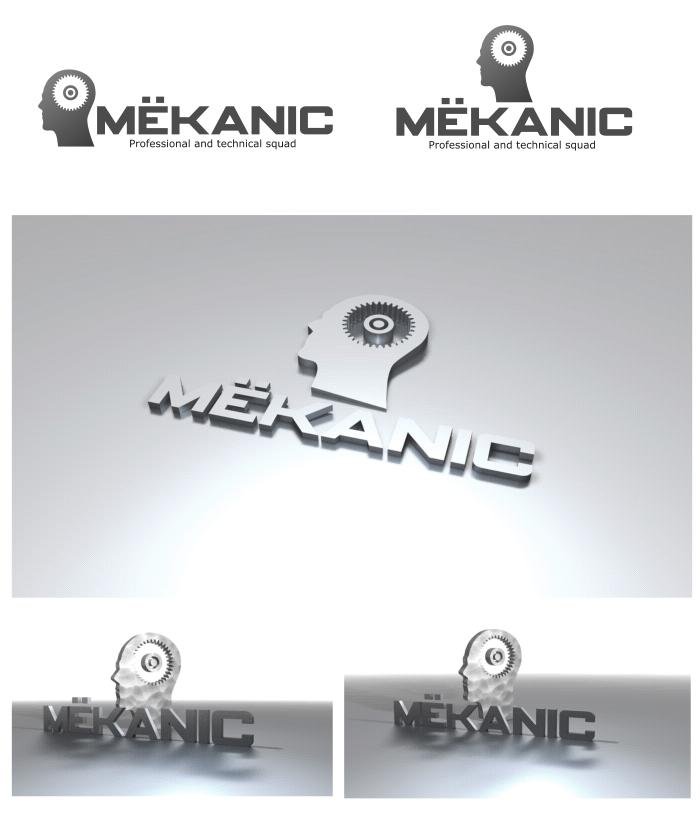 Logo Design by Private User - Entry No. 343 in the Logo Design Contest Creative Logo Design for MËKANIC - Professional and technical squad.