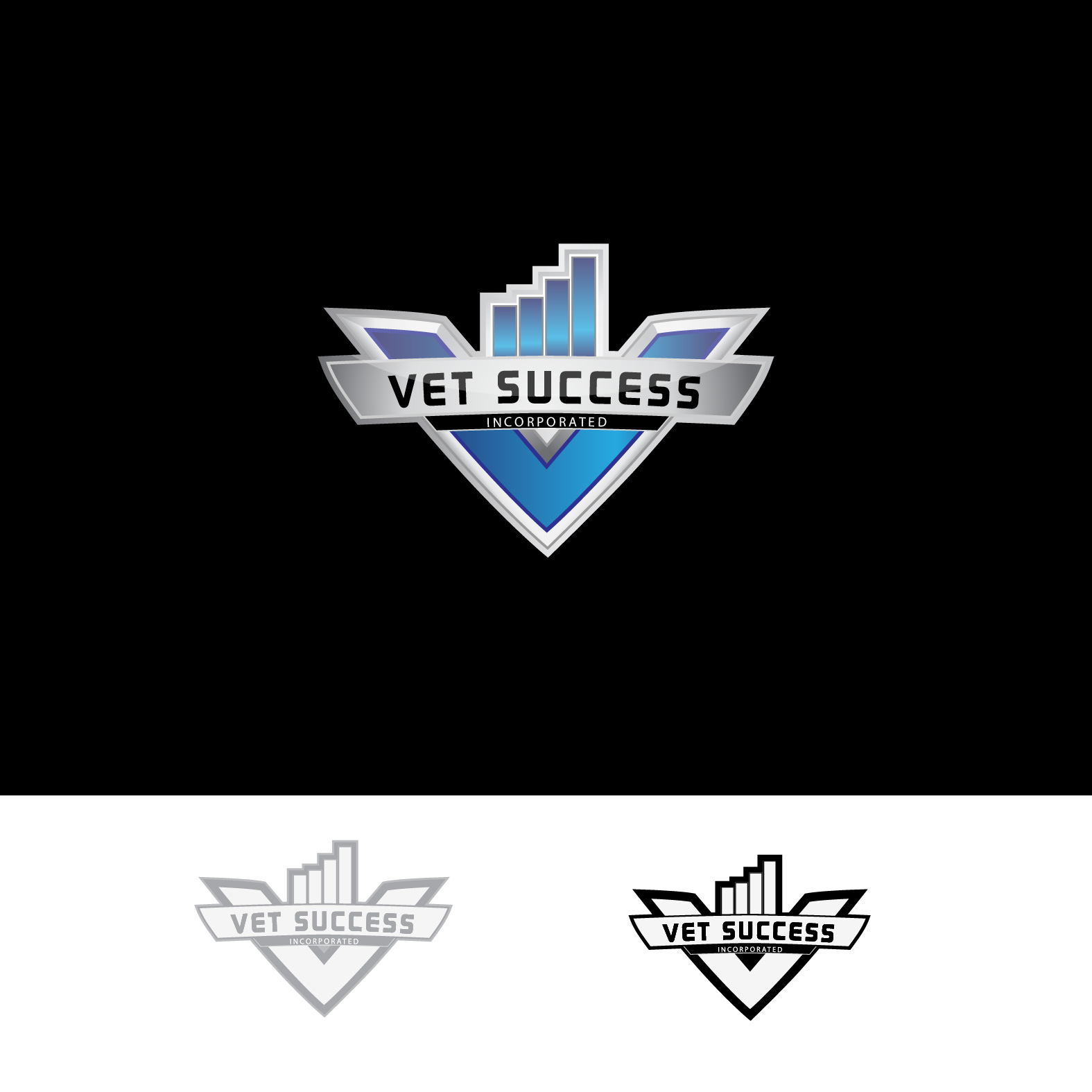 Logo Design by lagalag - Entry No. 66 in the Logo Design Contest Imaginative Logo Design for Vet Success Inc..