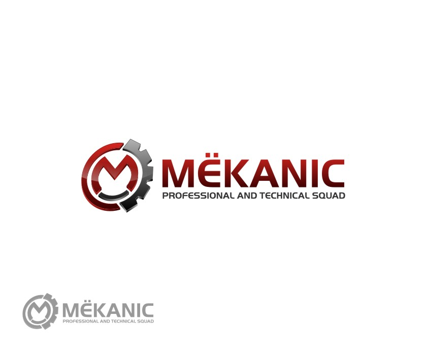 Logo Design by untung - Entry No. 346 in the Logo Design Contest Creative Logo Design for MËKANIC - Professional and technical squad.