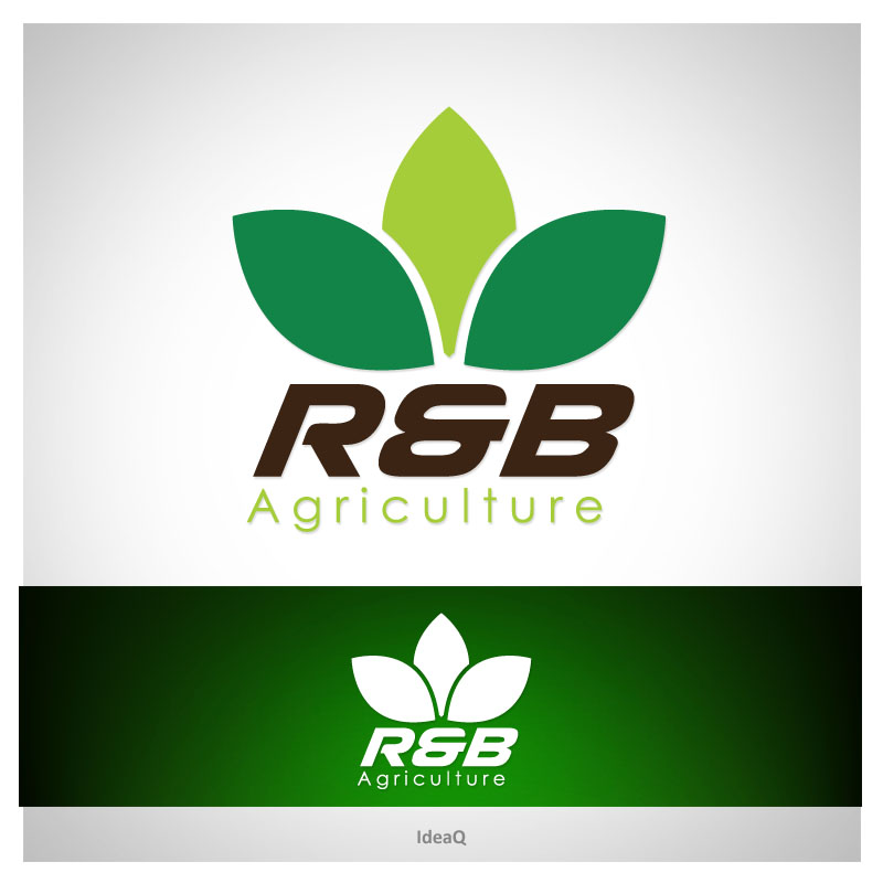 Logo Design by Private User - Entry No. 111 in the Logo Design Contest Captivating Logo Design for R & B Agriculture.