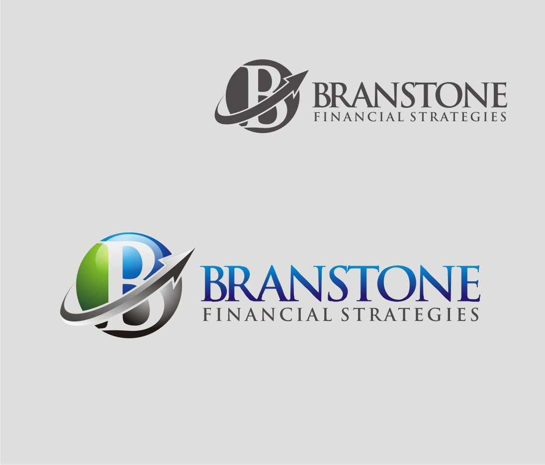 Logo Design by Reivan Ferdinan - Entry No. 14 in the Logo Design Contest Inspiring Logo Design for Branstone Financial Strategies.