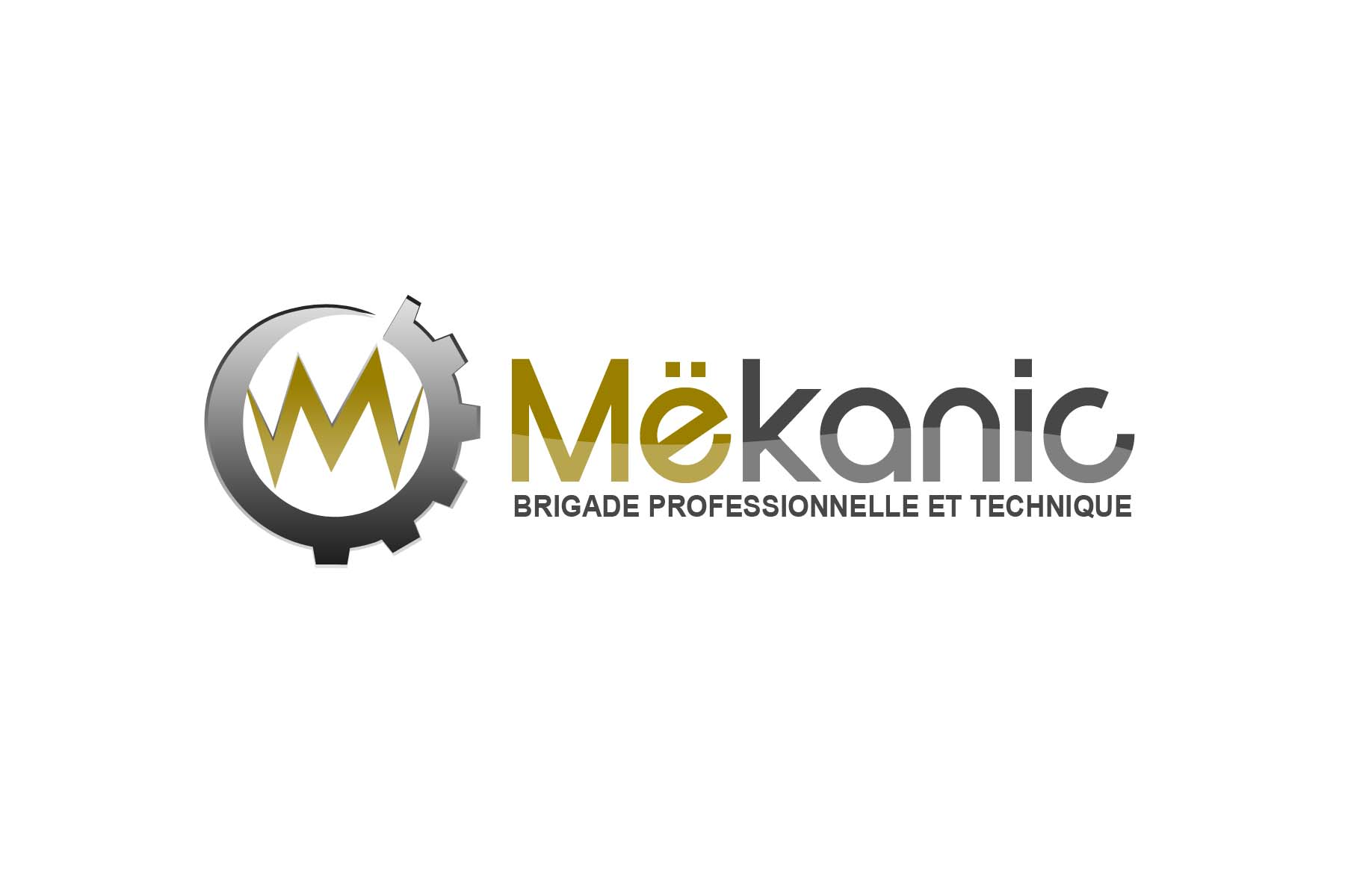 Logo Design by Private User - Entry No. 349 in the Logo Design Contest Creative Logo Design for MËKANIC - Professional and technical squad.