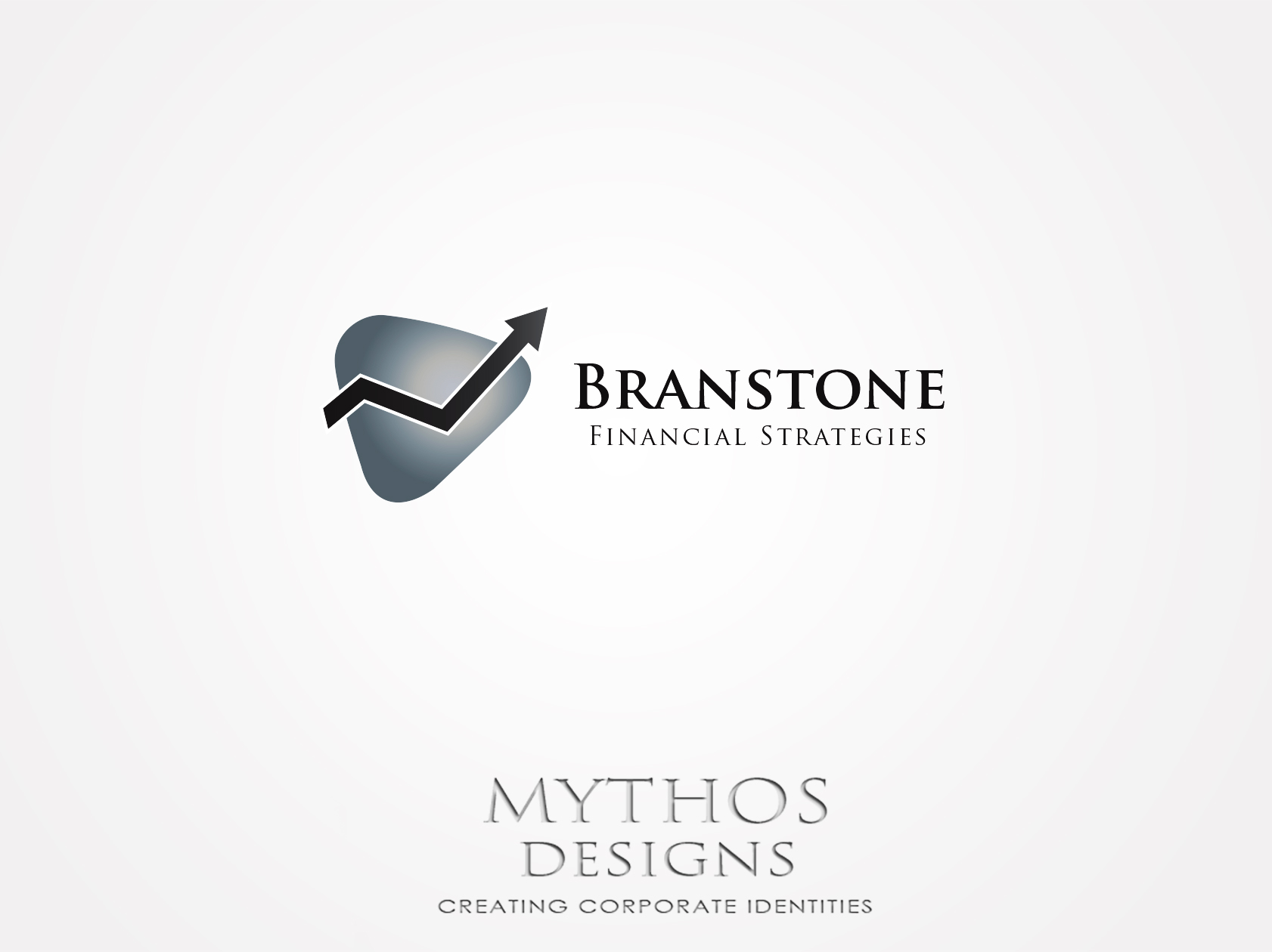 Logo Design by Mythos Designs - Entry No. 15 in the Logo Design Contest Inspiring Logo Design for Branstone Financial Strategies.