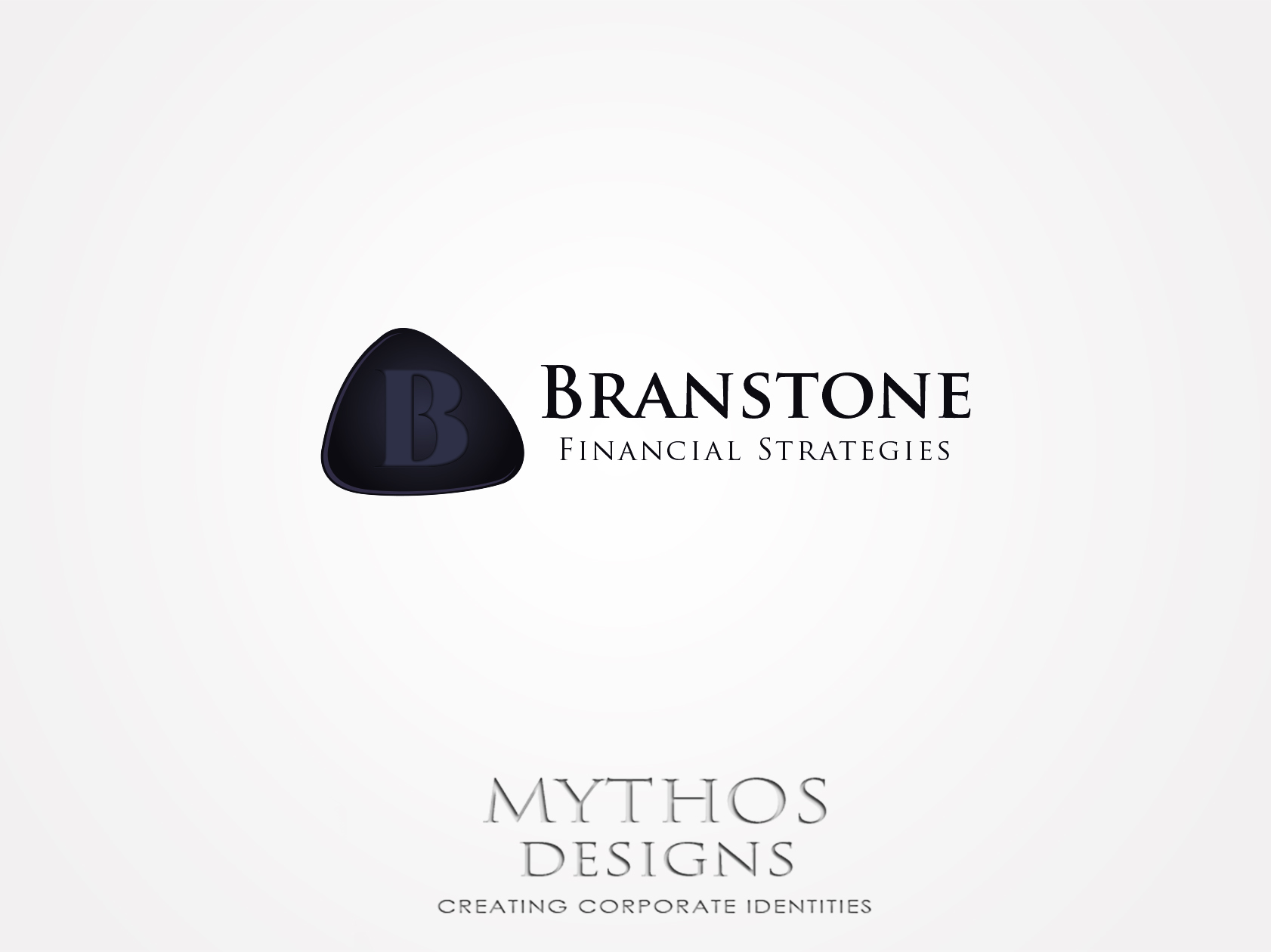 Logo Design by Mythos Designs - Entry No. 16 in the Logo Design Contest Inspiring Logo Design for Branstone Financial Strategies.
