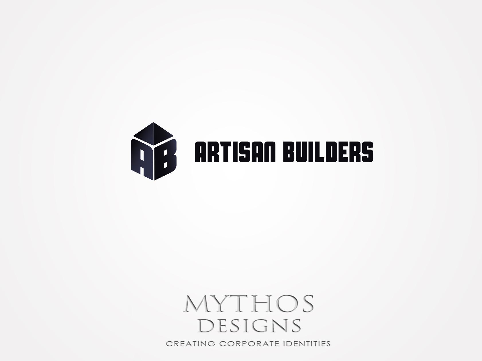 Logo Design by Mythos Designs - Entry No. 45 in the Logo Design Contest Captivating Logo Design for Artisan Builders.