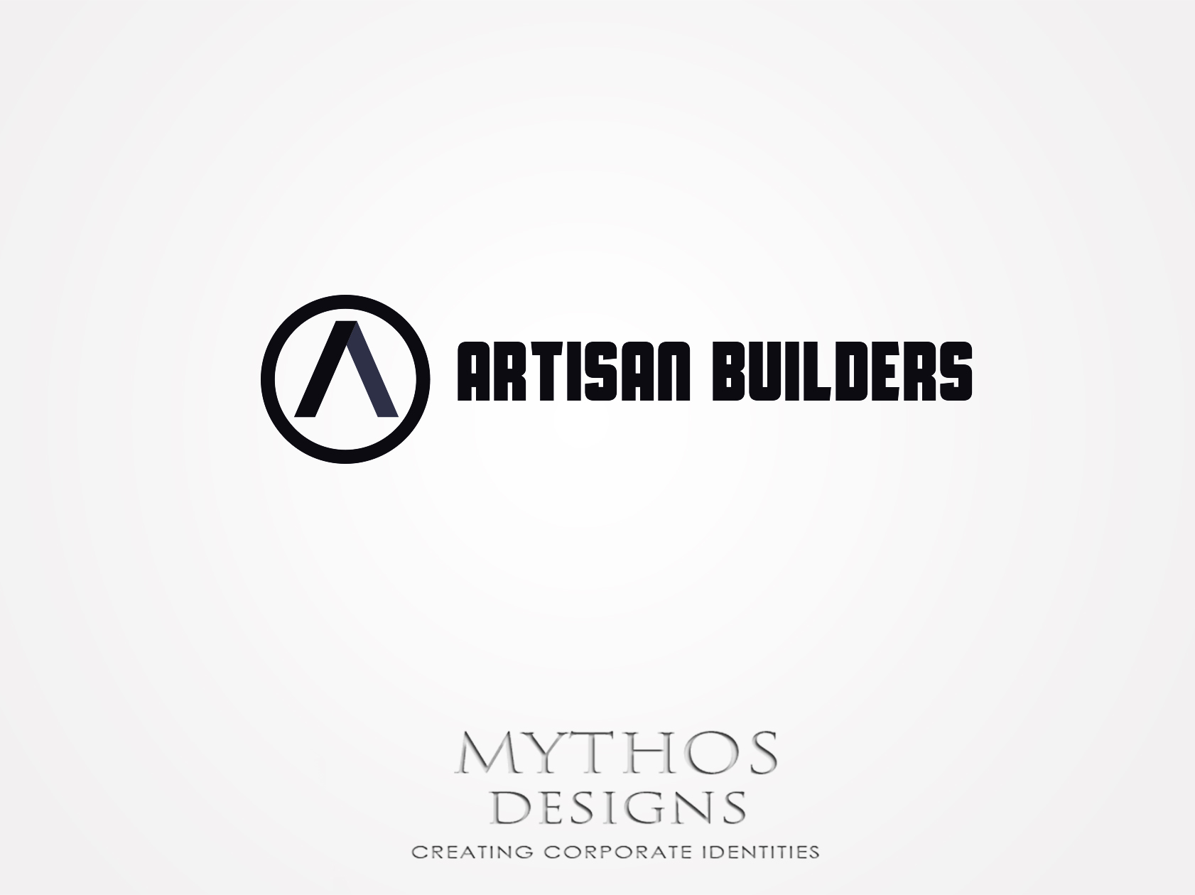 Logo Design by Mythos Designs - Entry No. 47 in the Logo Design Contest Captivating Logo Design for Artisan Builders.