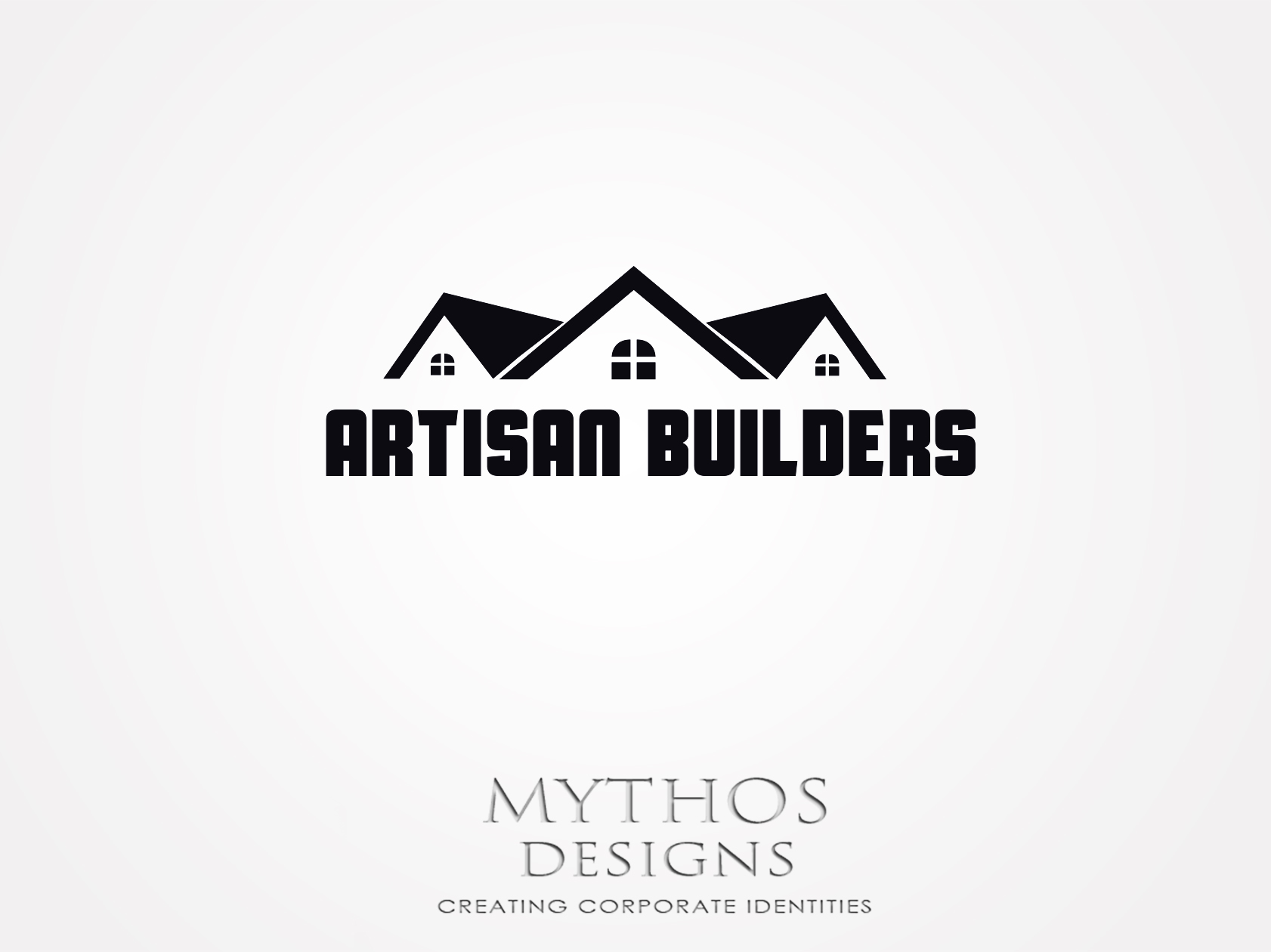 Logo Design by Mythos Designs - Entry No. 48 in the Logo Design Contest Captivating Logo Design for Artisan Builders.