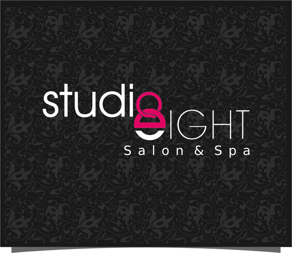 Logo Design by RasYa Muhammad Athaya - Entry No. 99 in the Logo Design Contest Captivating Logo Design for studio eight salon & spa.