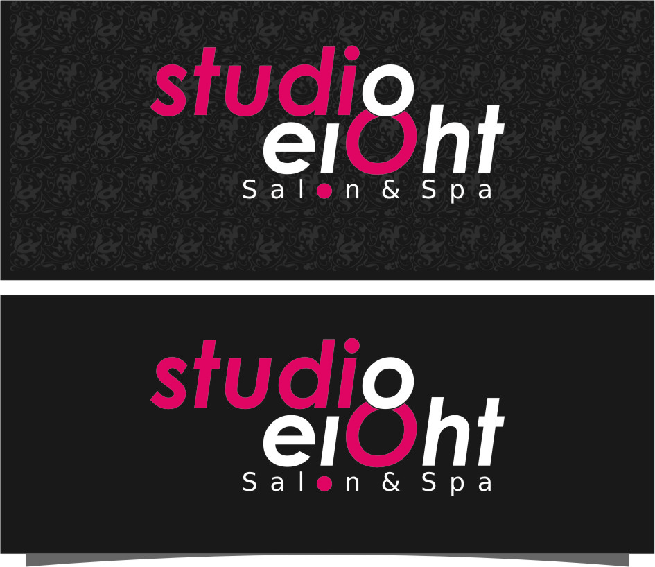 Logo Design by Ngepet_art - Entry No. 100 in the Logo Design Contest Captivating Logo Design for studio eight salon & spa.