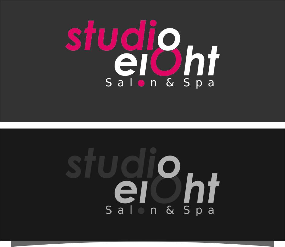 Logo Design by RasYa Muhammad Athaya - Entry No. 101 in the Logo Design Contest Captivating Logo Design for studio eight salon & spa.