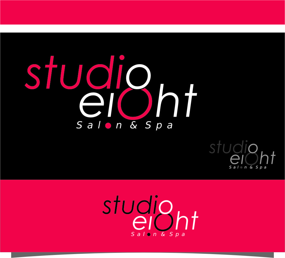 Logo Design by RasYa Muhammad Athaya - Entry No. 105 in the Logo Design Contest Captivating Logo Design for studio eight salon & spa.