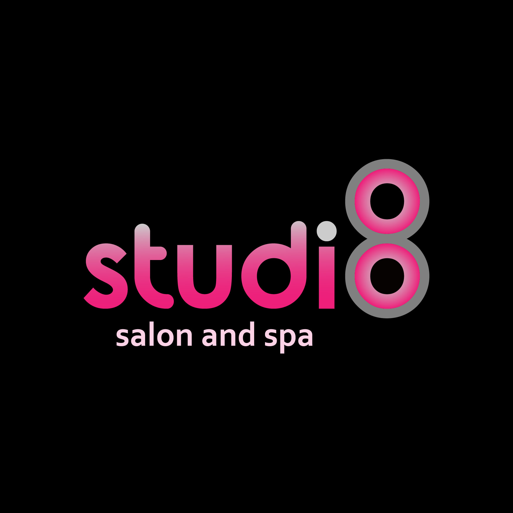 Logo Design by Cross Desain - Entry No. 106 in the Logo Design Contest Captivating Logo Design for studio eight salon & spa.