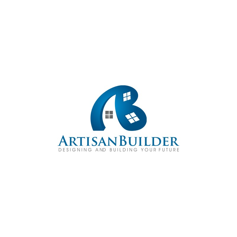 Logo Design by untung - Entry No. 52 in the Logo Design Contest Captivating Logo Design for Artisan Builders.