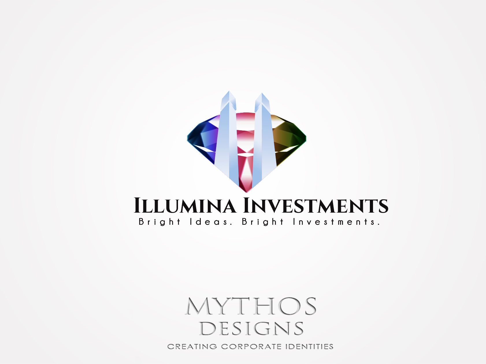 Logo Design by Mythos Designs - Entry No. 15 in the Logo Design Contest Creative Logo Design for Illumina Investments.