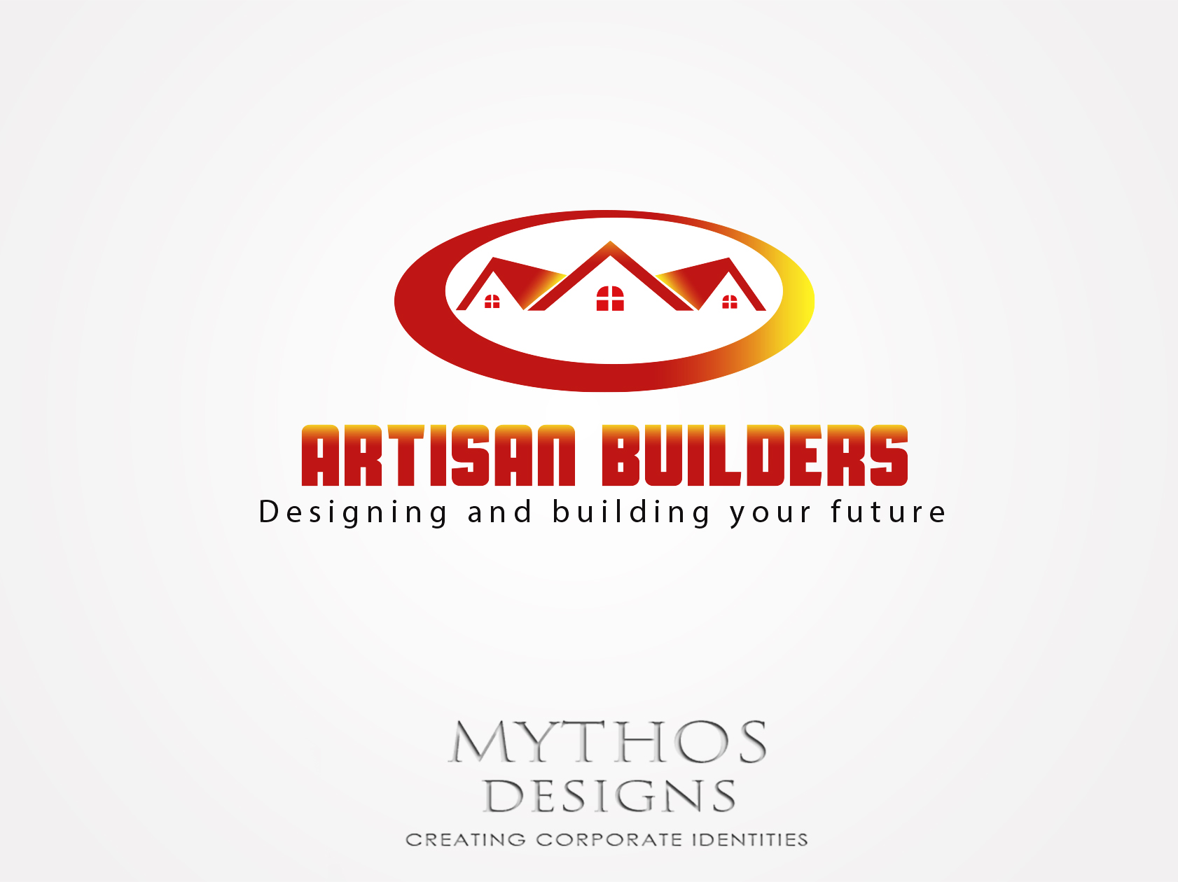 Logo Design by Mythos Designs - Entry No. 53 in the Logo Design Contest Captivating Logo Design for Artisan Builders.
