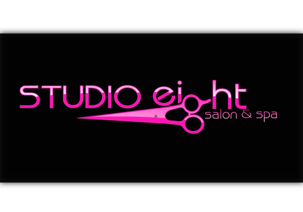 Logo Design by Amianan - Entry No. 107 in the Logo Design Contest Captivating Logo Design for studio eight salon & spa.
