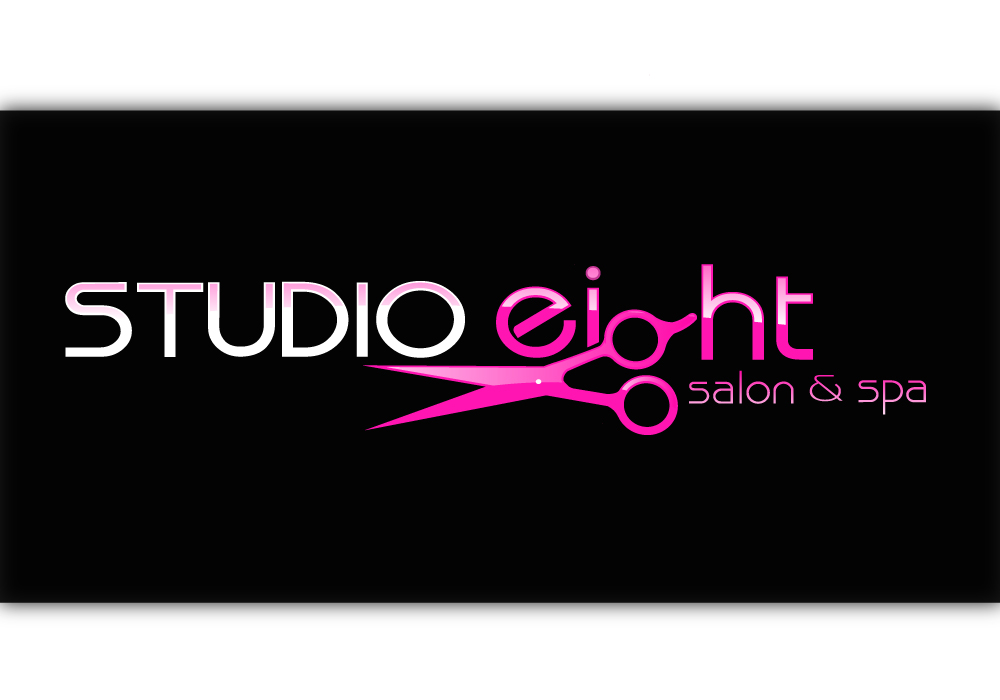 Logo Design by Amianan - Entry No. 108 in the Logo Design Contest Captivating Logo Design for studio eight salon & spa.