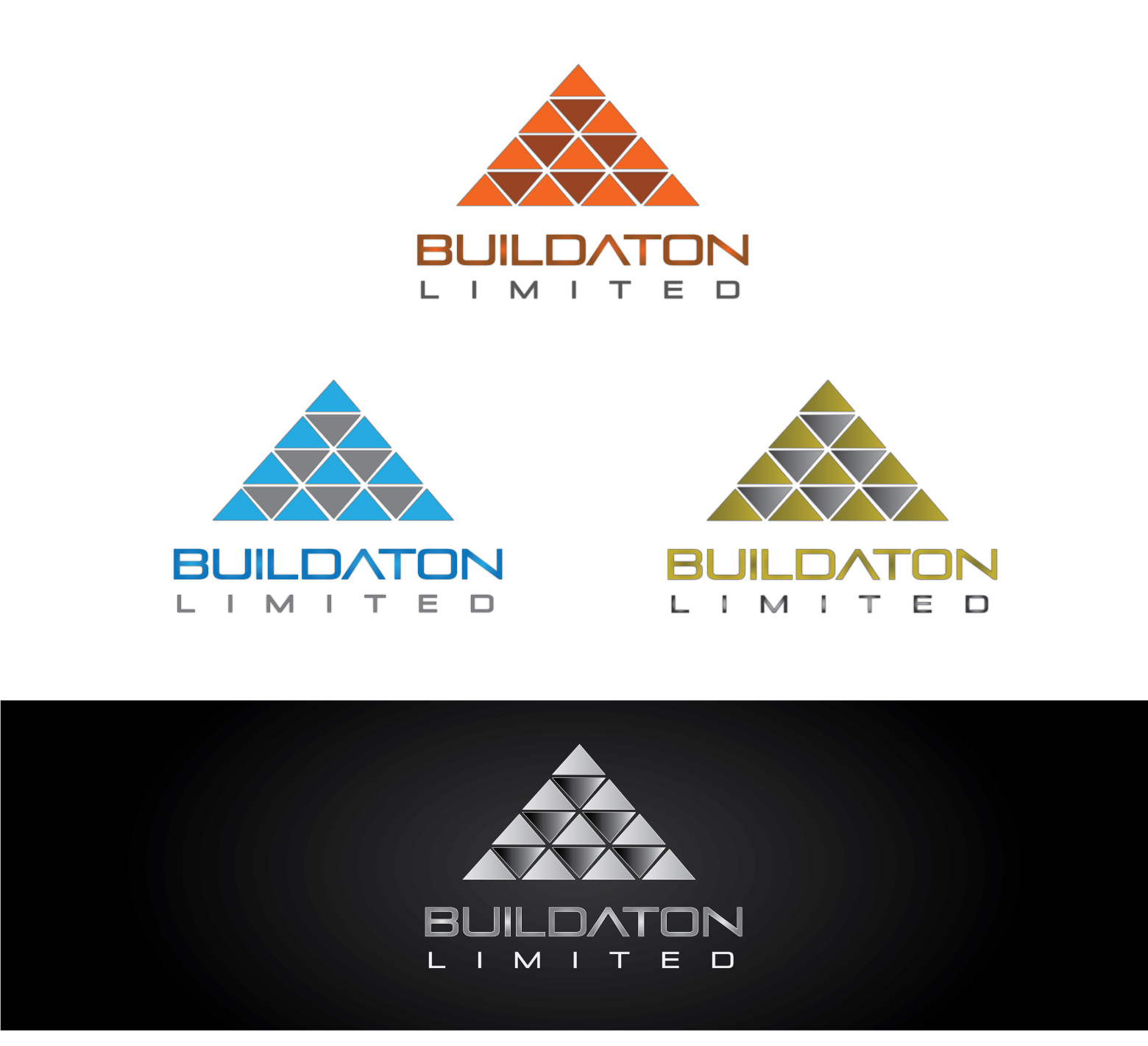 Logo Design by Private User - Entry No. 41 in the Logo Design Contest Artistic Logo Design for Buildaton Limited.