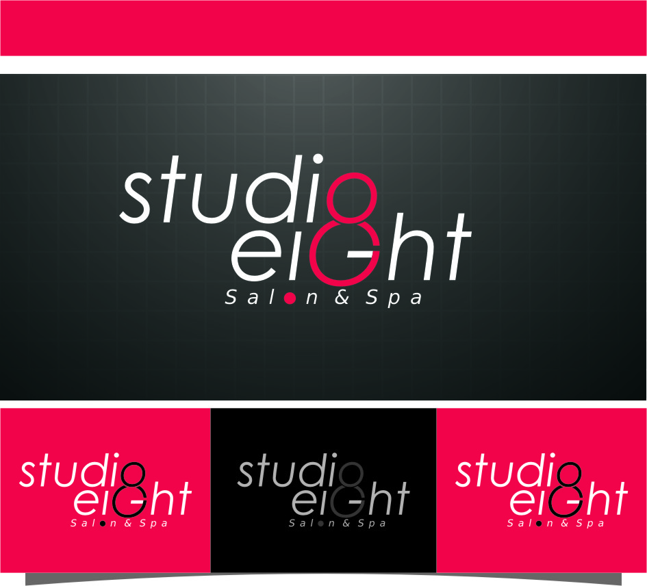Logo Design by RasYa Muhammad Athaya - Entry No. 117 in the Logo Design Contest Captivating Logo Design for studio eight salon & spa.