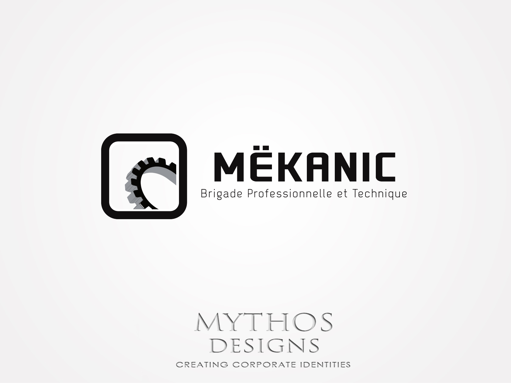 Logo Design by Mythos Designs - Entry No. 378 in the Logo Design Contest Creative Logo Design for MËKANIC - Professional and technical squad.