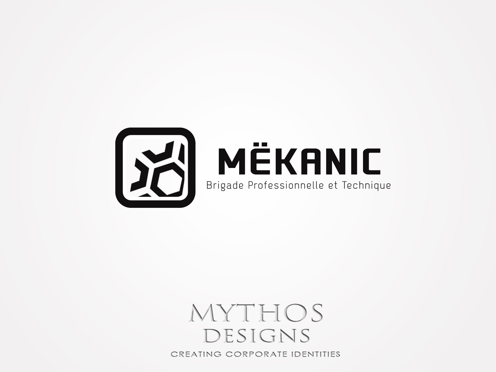 Logo Design by Mythos Designs - Entry No. 379 in the Logo Design Contest Creative Logo Design for MËKANIC - Professional and technical squad.
